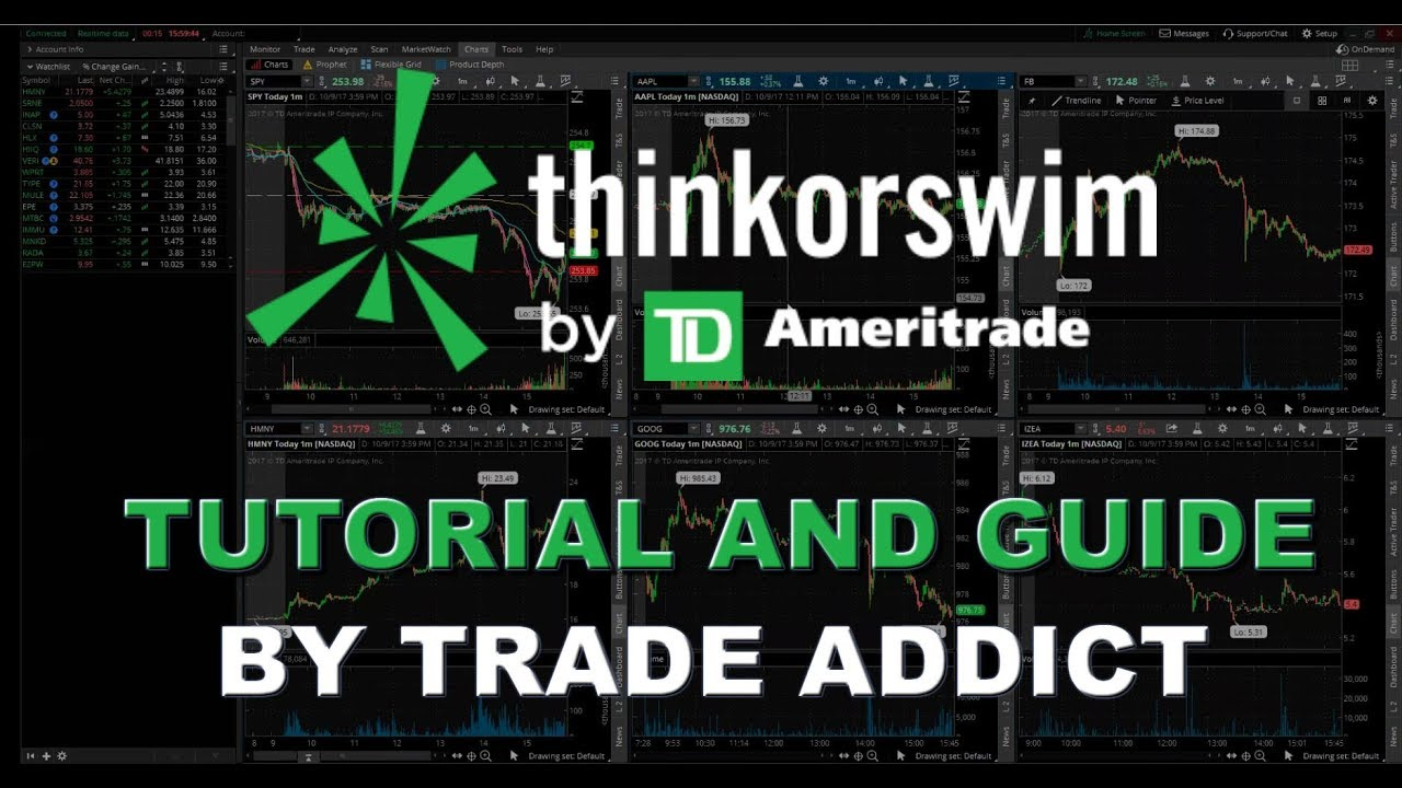 think or swim tos tutorial and guide