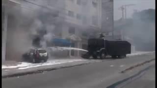 Compte rendu de la situation de tension qui régnait ce 12 septembre 2017 dans la zone métropolitaine