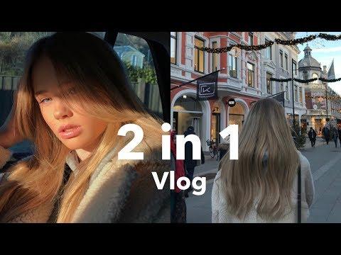 2 i 1 vlogg // En dag med meg i Oslo // Vlogg med Stina // Siri Lehland
