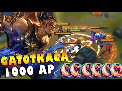 GATOTKACA FULL AP! 1000+ ABILITY POWER INSANE DAMAGE