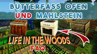 Pams Harvestcraft Ofen, Mahlstein und Butterfass! Churn und Quern - Life in the Woods Tipps Tricks