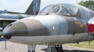 Hawker Hunter at Newark Air Museum England - 2018