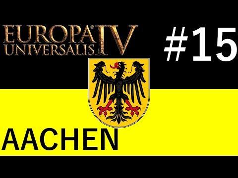 Coastline Expansion! - Aachen #15 - Europa Universalis IV - Rule Britannia