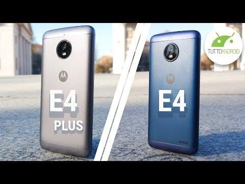 Economici con BATTERIA TOP: Moto E4 e Moto E4 Plus | Recensione ITA | TuttoAndroid