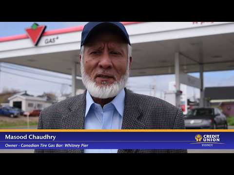 Sydney Credit Union Business Member Moments - Canadian Tire Gas Bar