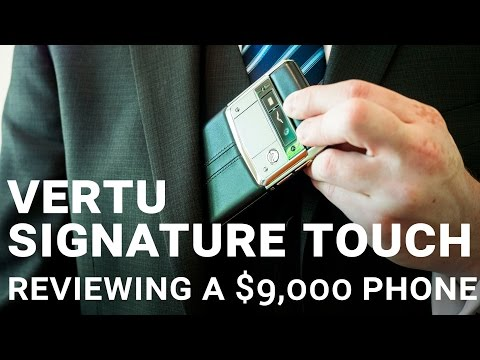 Vertu Signature Touch: This is a $9,000 luxury smartphone