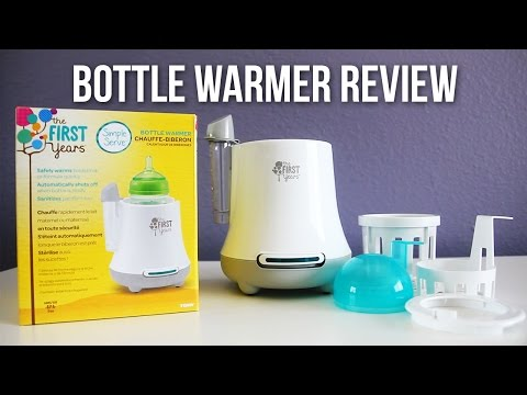 The First Years Simple Serve Bottle Warmer Review & Demo