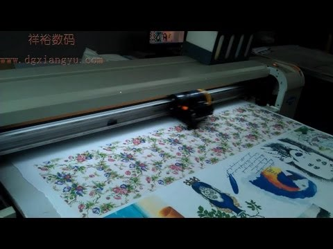 Cotton Printing Machine, Fabric/Textile/Garment Printer Machine