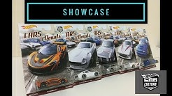 Showcase - Hot Wheels 2017 Car Culture Cars & Donuts Set