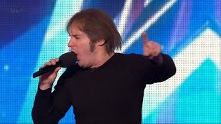Britain's Got Talent 2015 S09E07 Andrew Fleming Awesome Comedic Singing Impersonator thumbnail