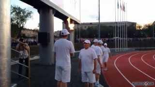 В Орске зажгли факел Фестиваля рабочего спорта