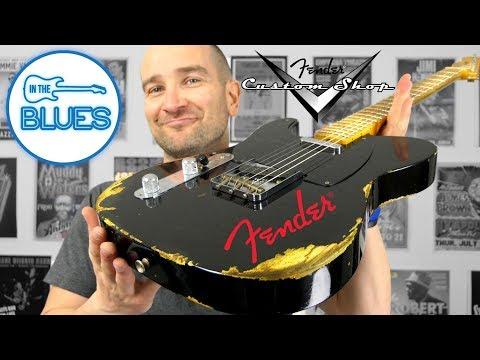 Fender Custom Shop '52 Heavy Relic Black Telecaster