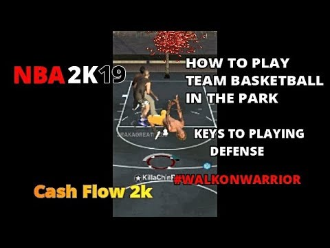NBA 2K19 DEFENSIVE TIPS AND STATEGIES TO WIN PARK GAMES