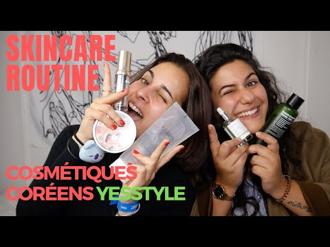 SKINCARE ROUTINE COSMETIQUES COREENS   YESSTYLE