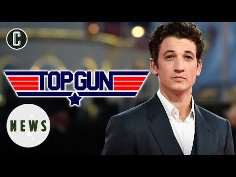 Top Gun 2: Miles Teller to Play Goose's Son Opposite Tom Cruise