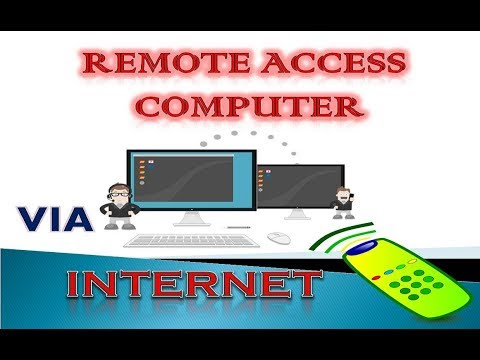 How To Set Up Remote Desktop Connection To Access Any Computer Via Internet