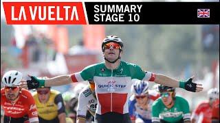 Summary - Stage 10 - La Vuelta 2018