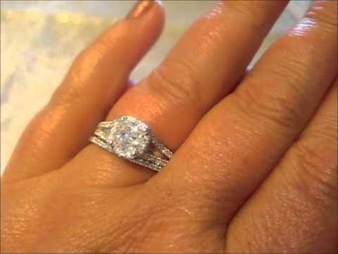 Trendy Engagement Ring For Young Split Shank Engagement Ring