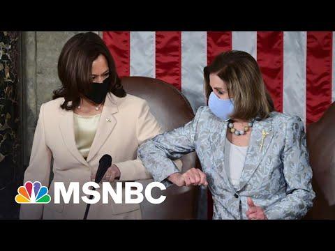 'Madam Speaker, Madam Vice President': Biden Speech Makes History | MSNBC