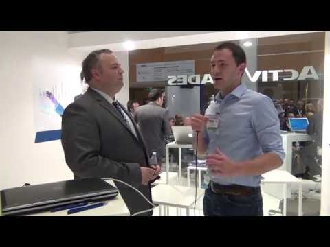 Interview of the Marketing Analyst of the Broker ActivTrades at IT Forum in Italy