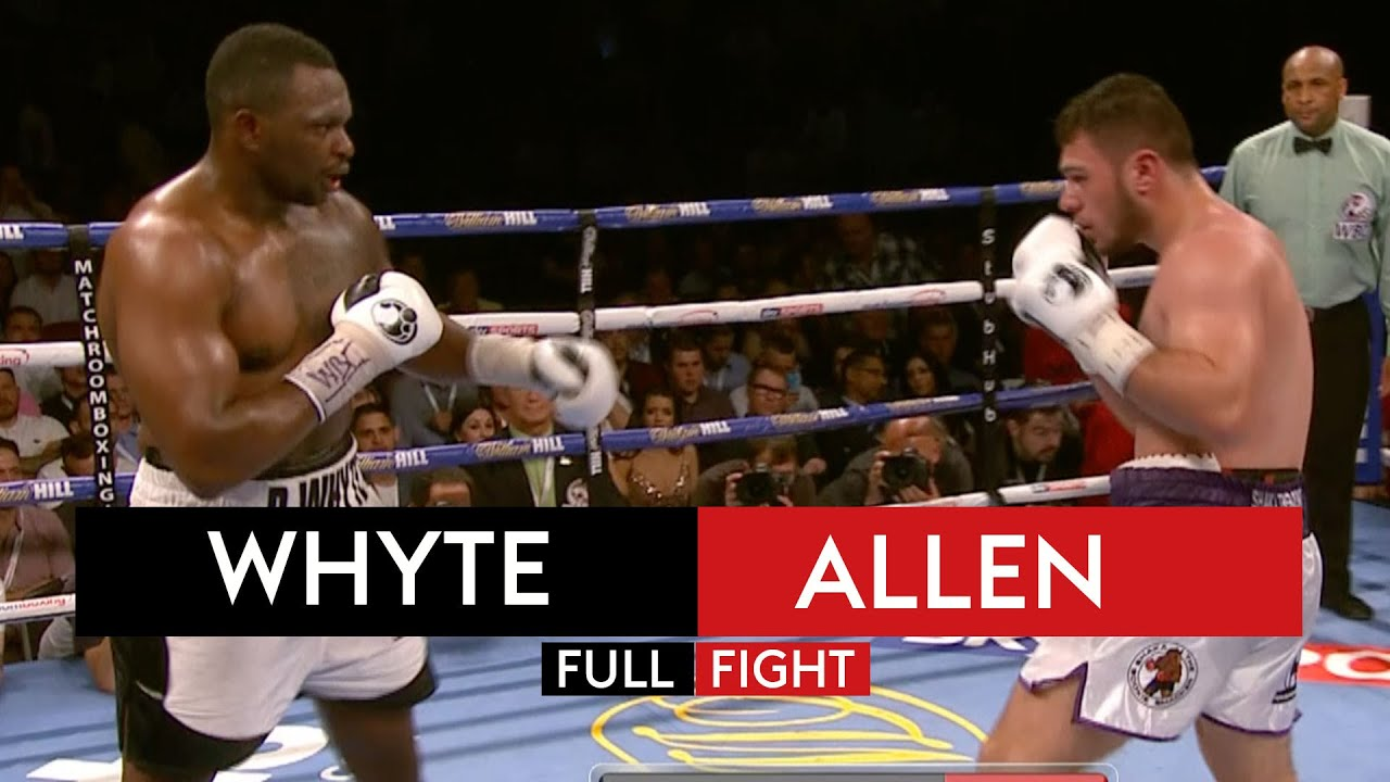 FIGHT REWIND! Dillian Whyte vs Dave Allen
