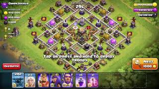 Clash of Clans Private Server 1 - 102 Super P.E.K.K.As vs. Town Hall 11 Base