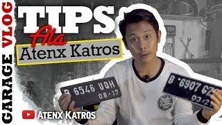 TIPS PLAT NOMOR CUSTOM [Garage Vlog]