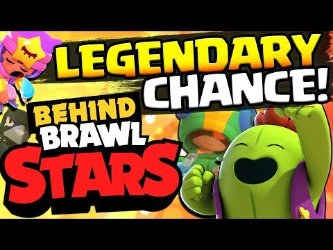 Behind Brawl Stars #4! HOW TO INCREASE LEGENDARY BRAWLER CHANCE