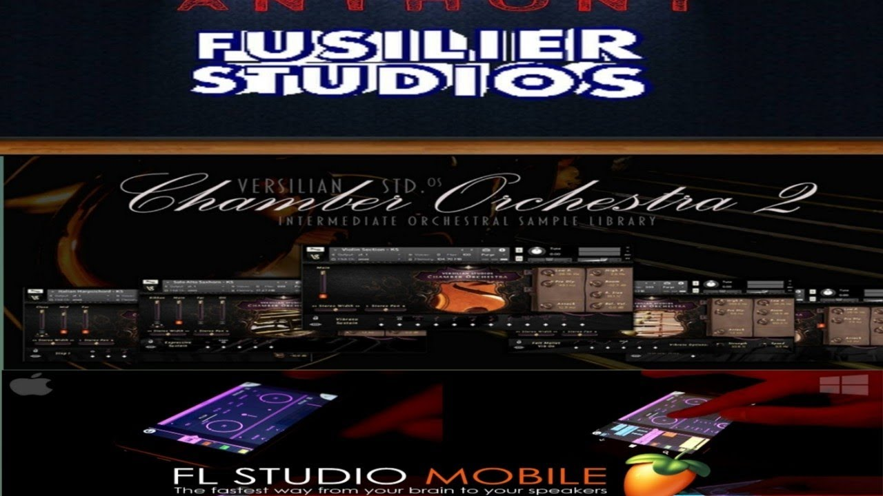 Versilian Studios Chamber Orchestra for FL Studio Mobile- Demo and Tutorial