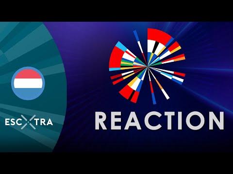 REACTION: Eurovision 2020 Theme Art // ESCXTRA.com