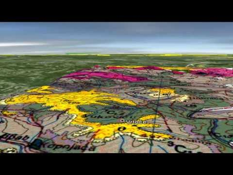 GEOLOGY Basic Info 2013 MILIĆI geološka karta 3D