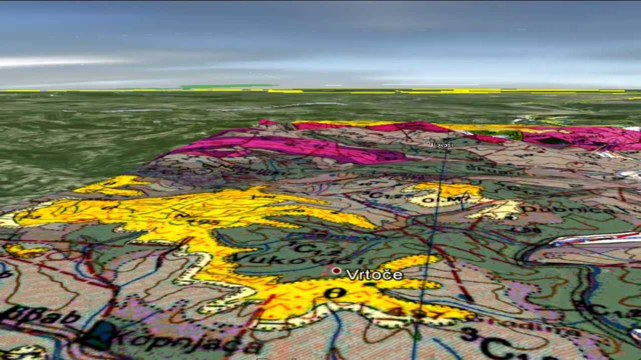 mapa 3d srbija GEOLOGY Basic Info 2013 MILIĆI geološka karta 3D   YouTube mapa 3d srbija