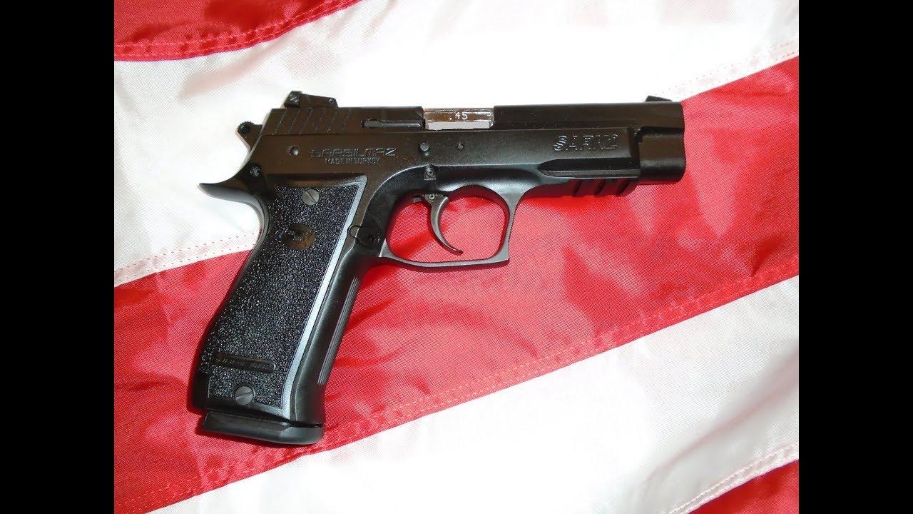 SAR K2 Pistol Review