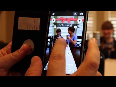 Fete Wine Augmented Reality Experience