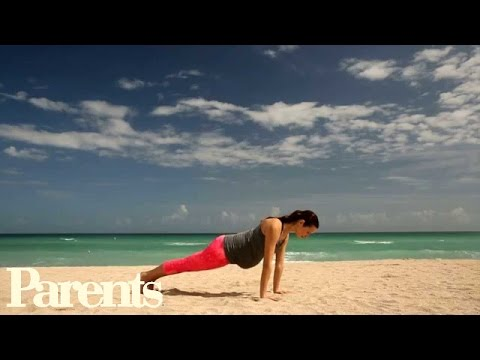 Celebrity Pregnancy Workout: Finish Strong | Parents