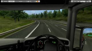 UK Truck Simulator Gameplay First Job HD