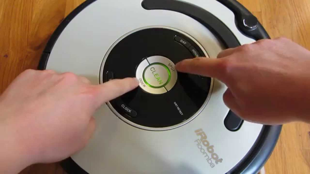 Irobot Roomba How To Reset The Roomba Youtube