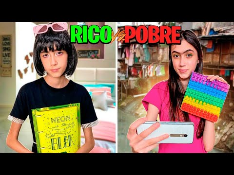 Download RICO VS POBRE FIDGET TOYS POP IT   GABI VIEIRA