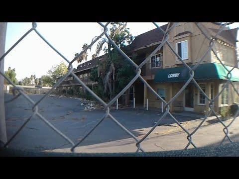 Abandoned Motel in San Bernardino  Tweekers took over!