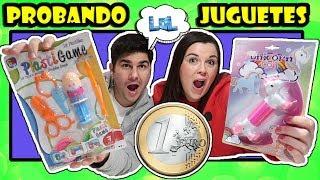 REGALOS por menos de 1 euro !! Probando JUGUETES 1€ juguetes por 1 euro