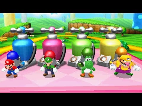 Mario Party Island Tour - All General Minigames