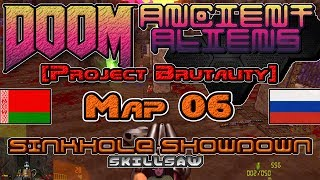 [Project Brutality] Ancient Aliens, Map06: Sinkhole Showdown (Doom II)