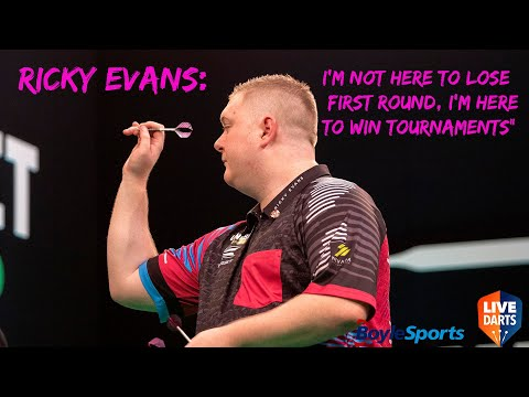 """Ricky Evans: """"I'm not here to lose First Round, I'm here to win tournaments"""""""