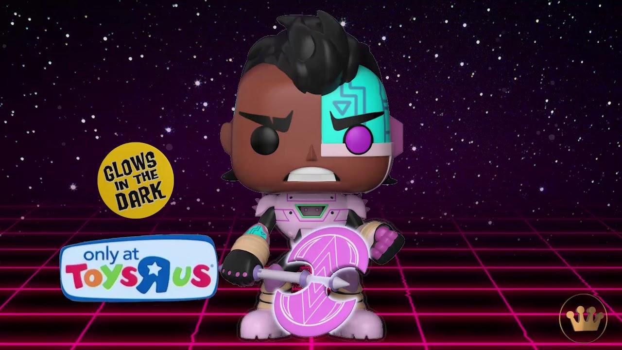 Teen Titans Go! The Night Begins to Shine Cyborg Pop Vinyl Figure NEW Funko