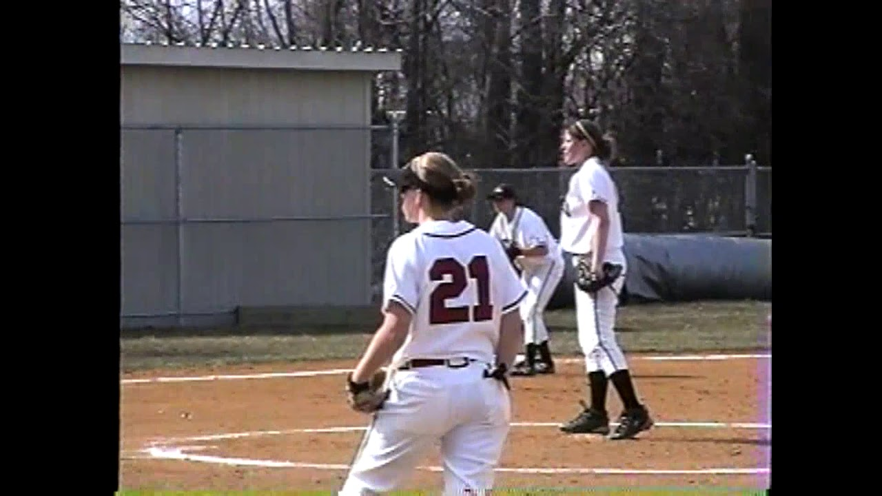 PSUC - Potsdam Softball game one  4-15-03