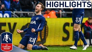 Eriksen Brace puts Spurs in the Semi | Swansea 0-3 Tottenham | Emirates FA Cup 2017/18