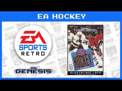 EA Hockey (Sega Genesis/Mega Drive) 1991 | EA Sports Retro | Demo Gameplay