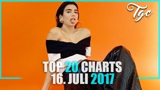TOP 20 SINGLE CHARTS - 16. JULI 2017