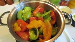 Basic Recipe For Heirloom Tomato Pasta Sauce Or Soup Stock: Easy! - Trg 2014