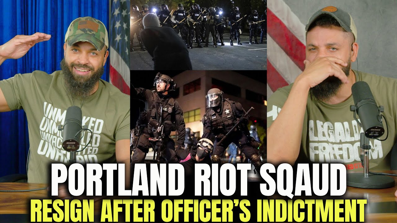 Entire Portland Riot Squad Resign After Officers Indictment